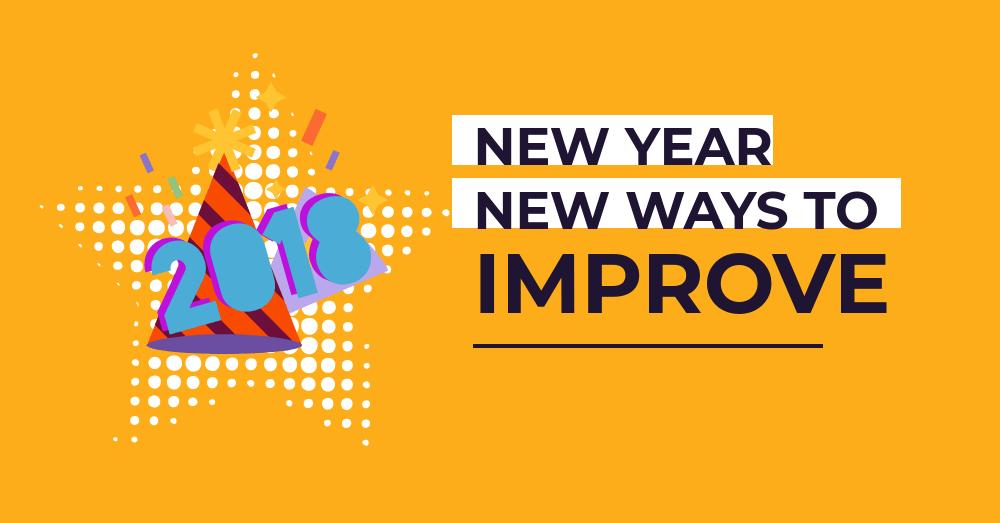 New year new ways to improve