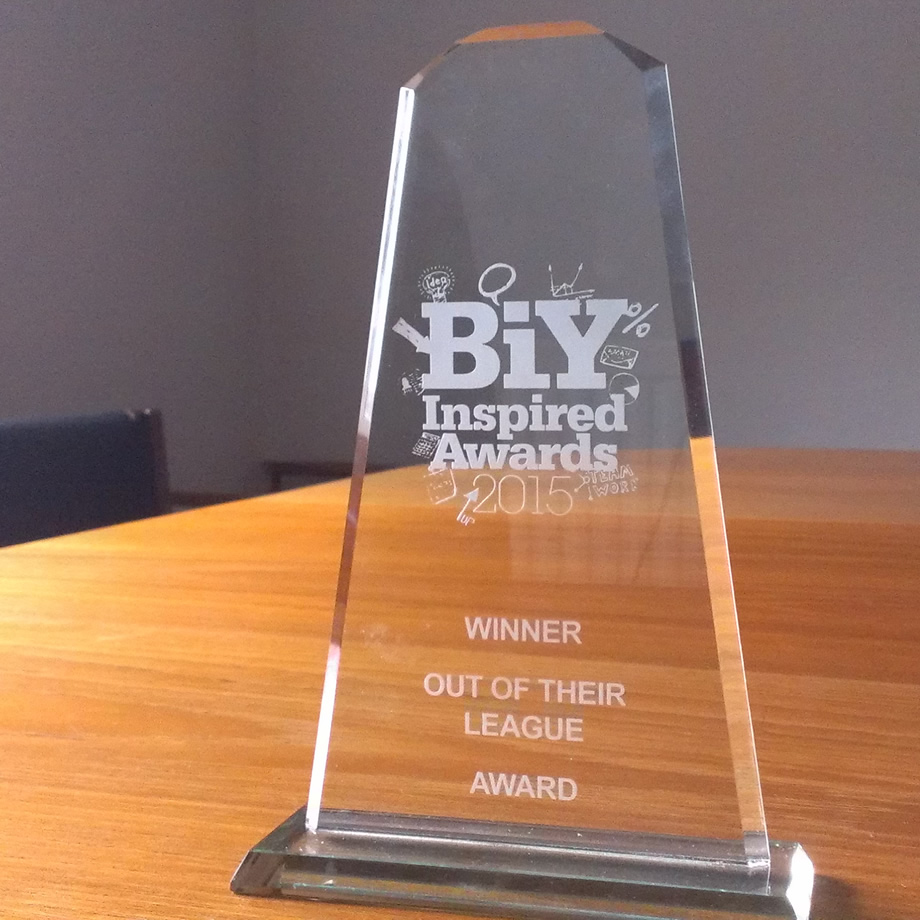BIY Inspired Award