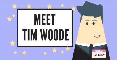 Meet TIM WOODE.