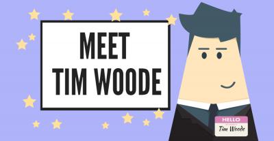 Meet TIM WOODE.