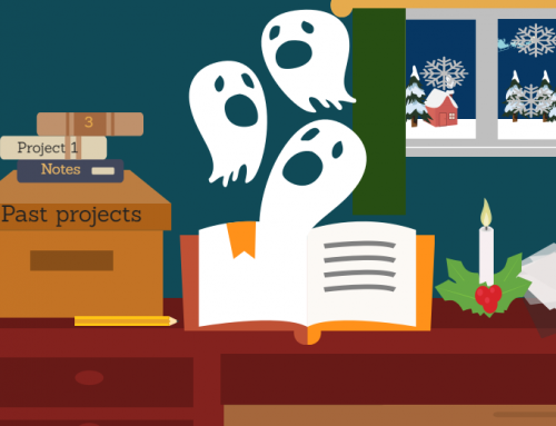 Learning from the ghosts of projects past, present, and future