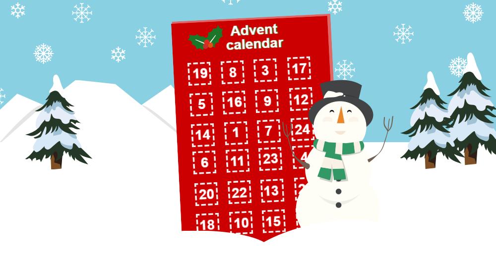 Advent calendar.
