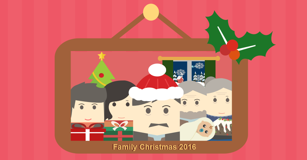 Family Christmas 2016.