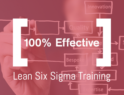 Why choose 100% Effective Lean Six Sigma training?