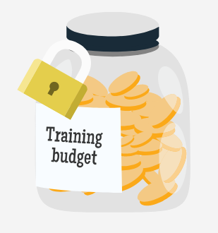 Training budget, money