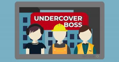 Undercover boss.