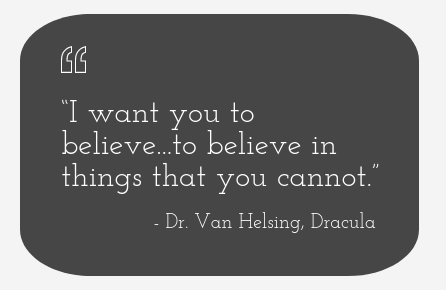 Van Helsing Quotation.