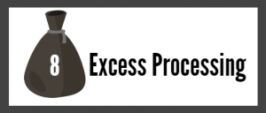 Excess Processing.