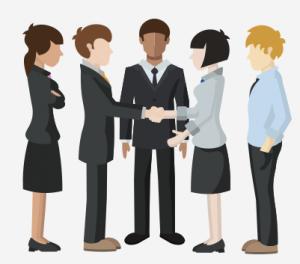 Meeting people.