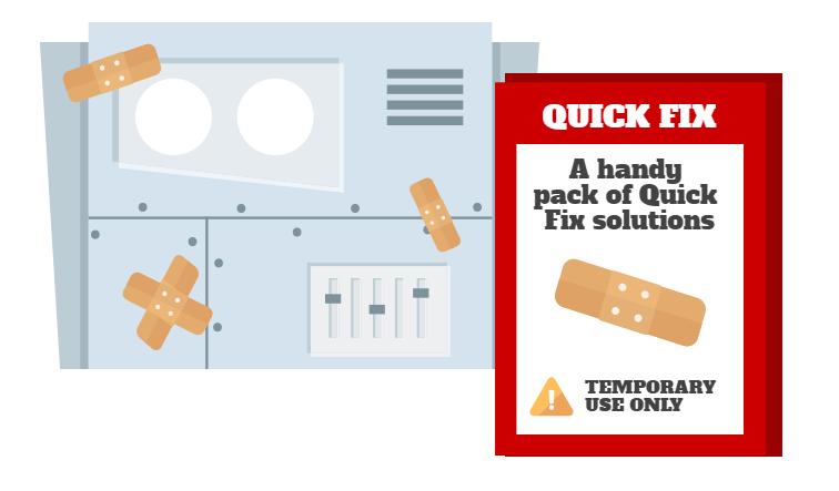 Quick Fix solutions.