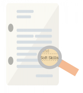 Searching for soft skills.