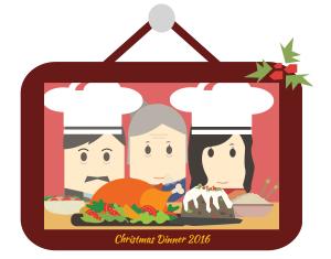 Christmas dinner 2016.