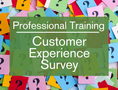 Professional Training Experience Survey