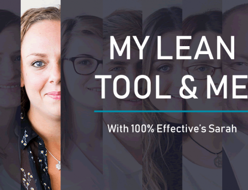 My Lean tool and me | Sarah