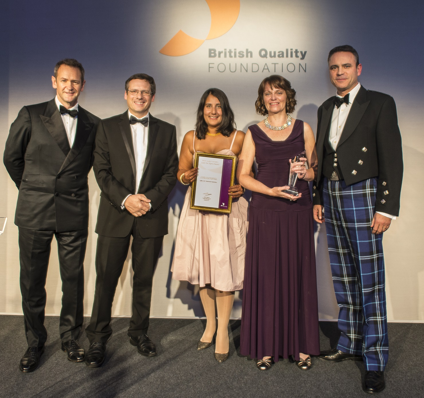 Office for National Statistics BQF award