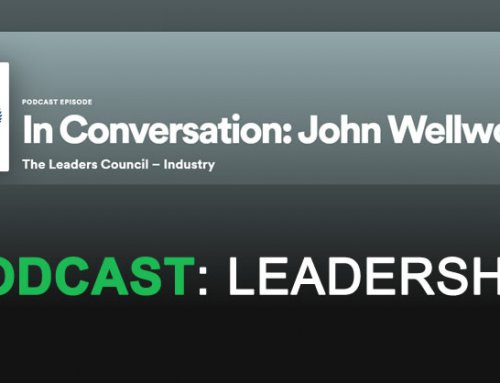 John Wellwood from 100% Effective appears in Leaders Council podcast (alongside Lord Blunkett)