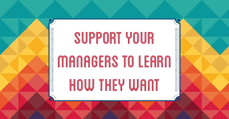Support managers