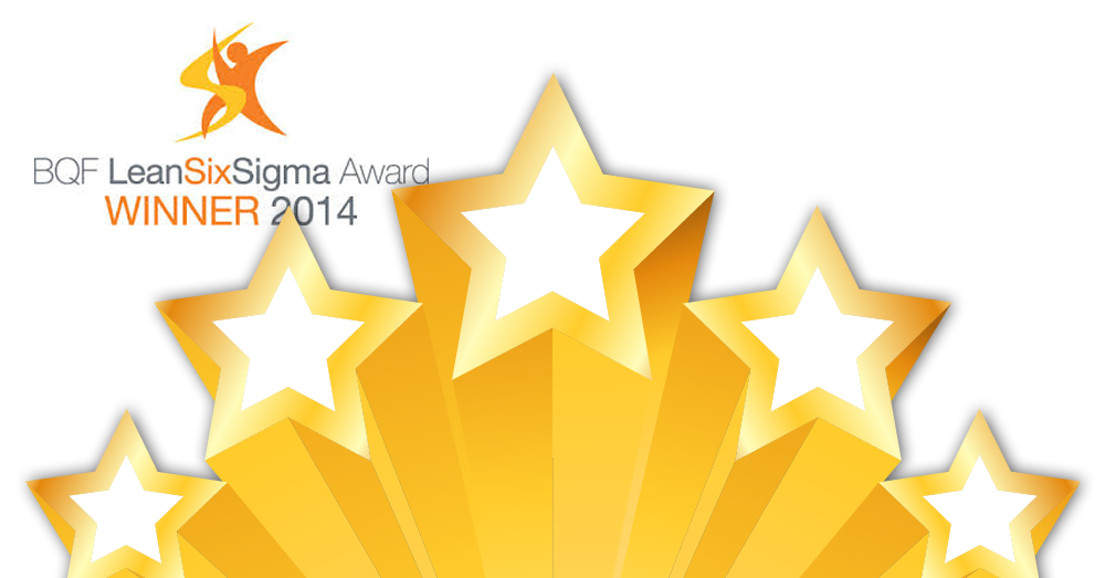 Awards BQF Lean Six Sigma