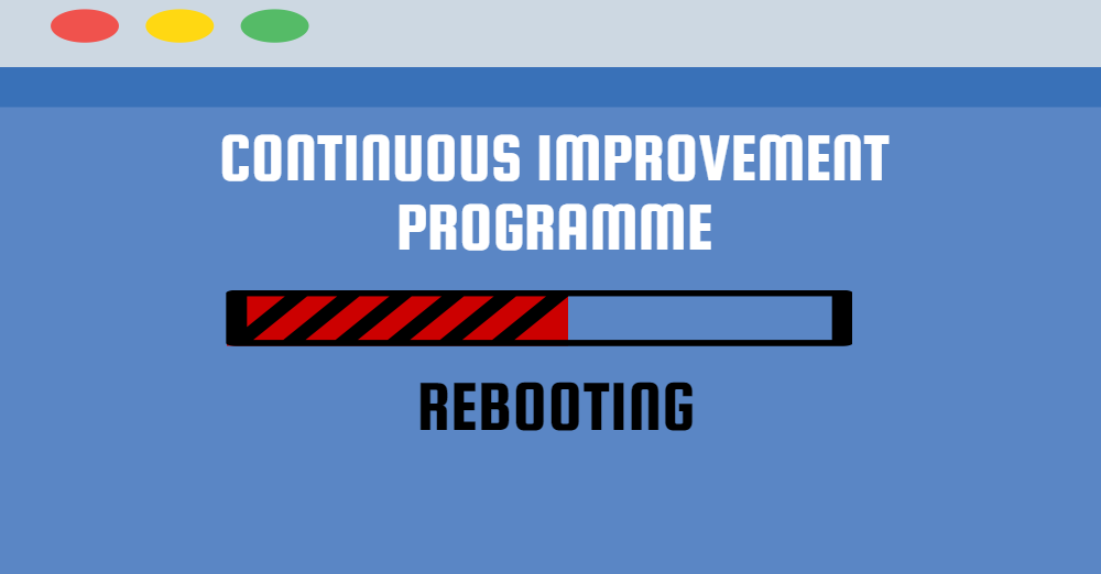 Reboot your CI Programme