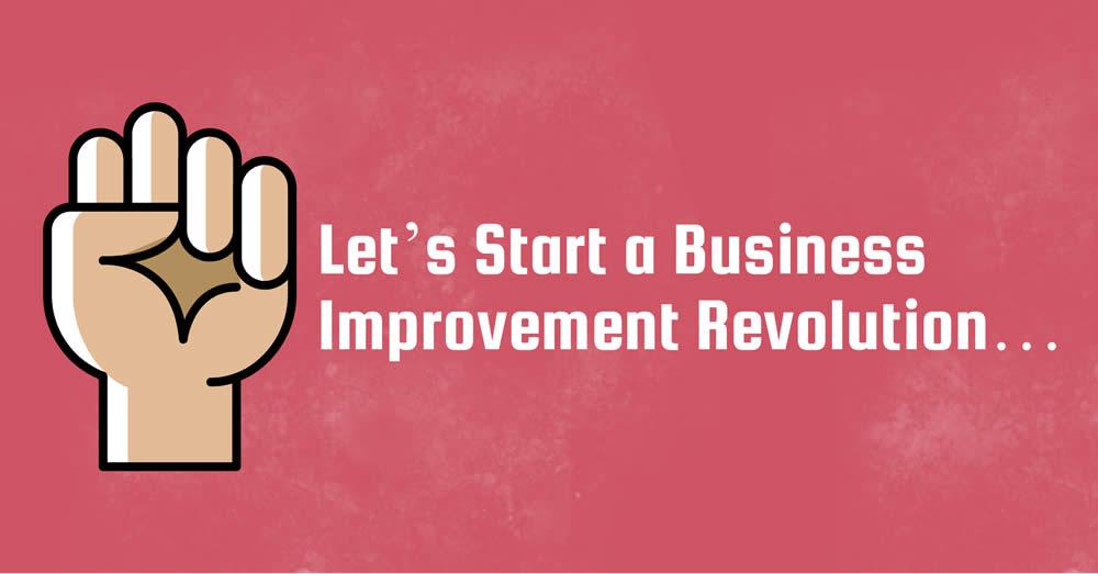 Let's Start a Business Improvement Revolution