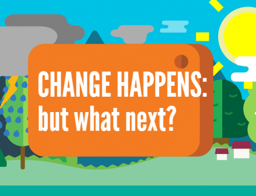 Change happens, it's what you do next that matters