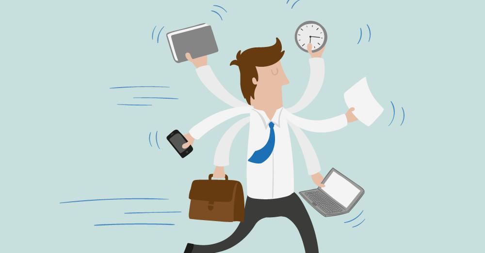 Stop multitasking do less