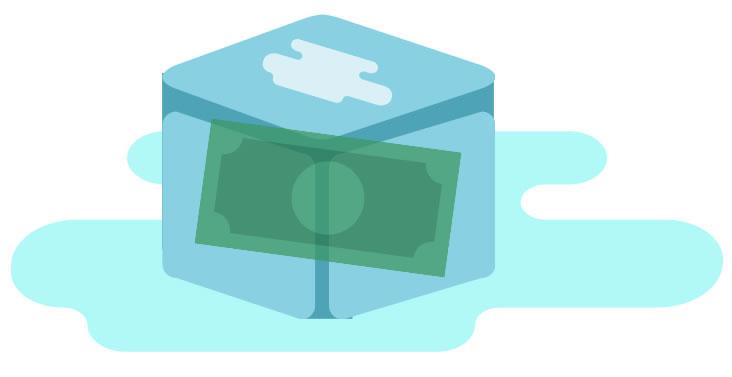 frozen budget