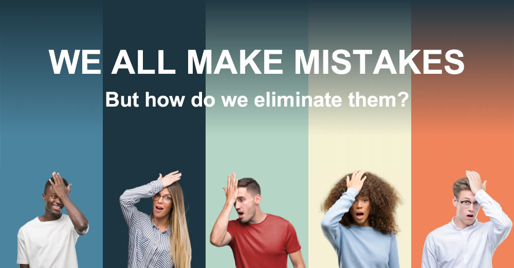 Human error elimination training and investigation why make mistakes