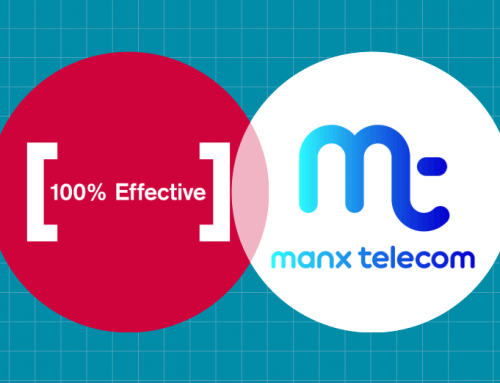 100% Effective team up with Manx Telecom