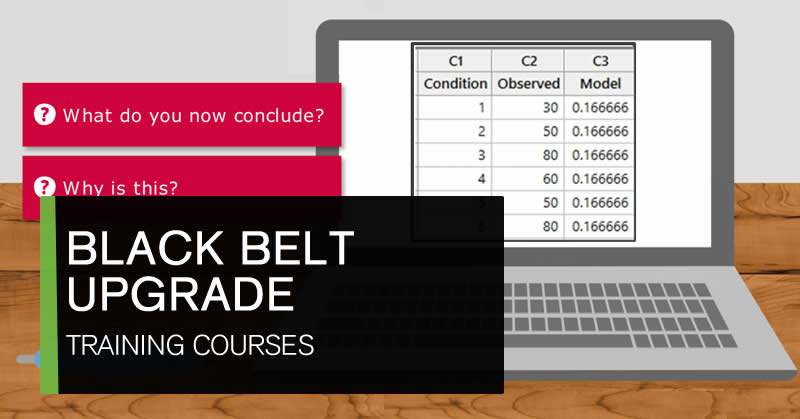 Online Lean Six Sigma Black Belt upgrade