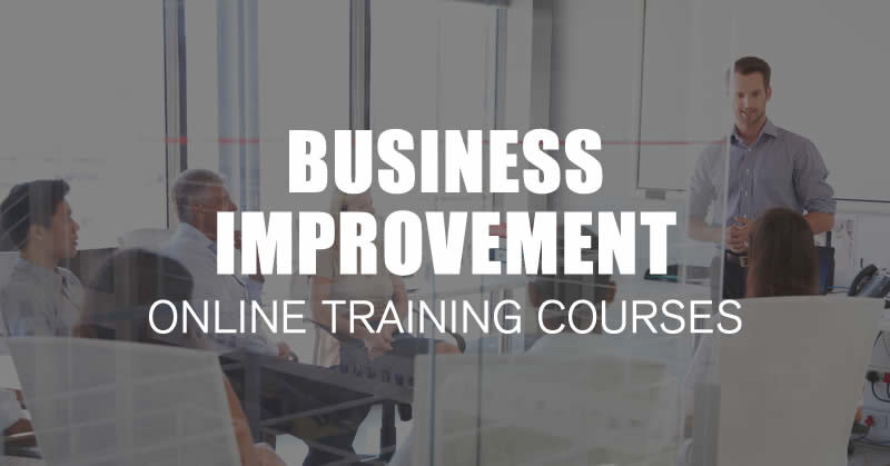 online business improvement training courses