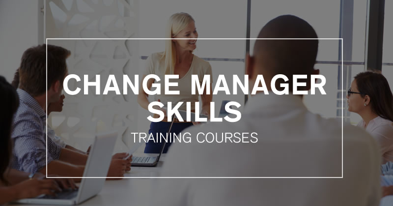 Change Manager Skills Training