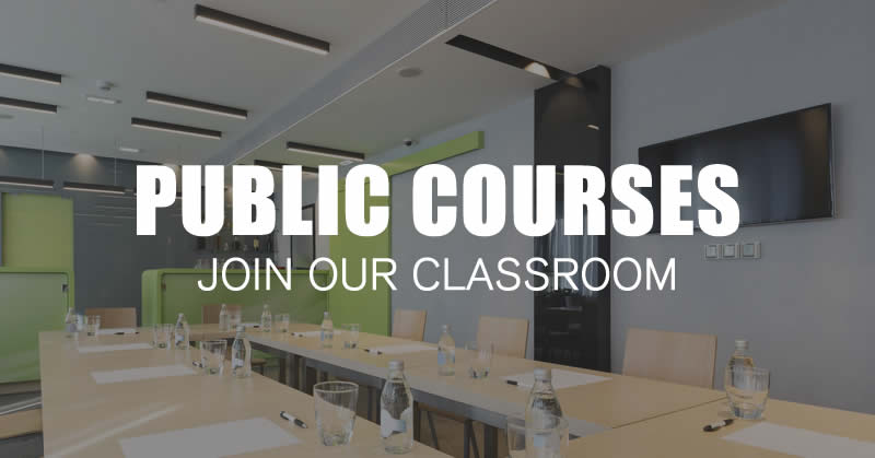 Classroom training courses