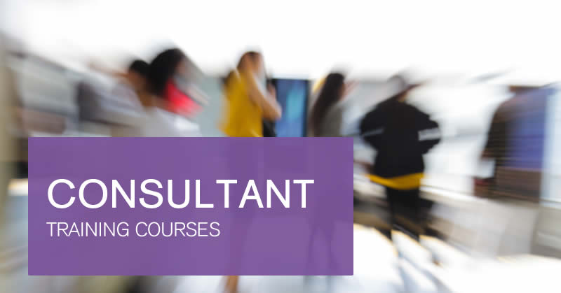 Consultant training courses