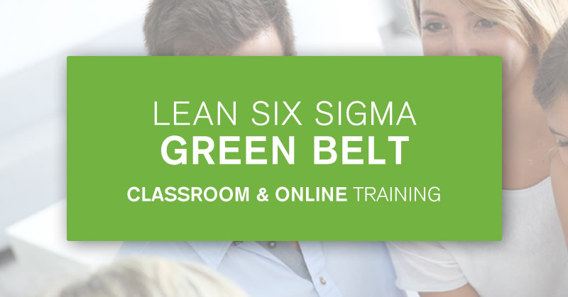 Green Belt training course