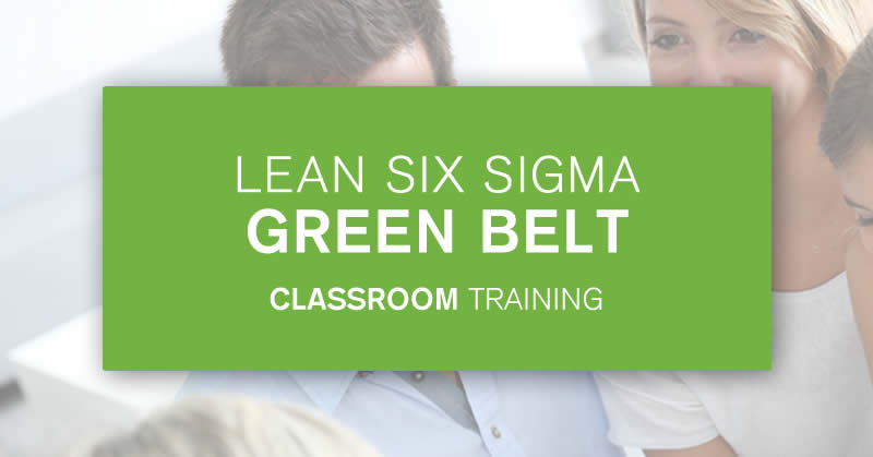 Classroom Green Belt training course