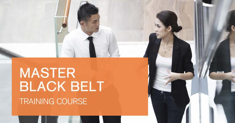 Master Black Belt training course