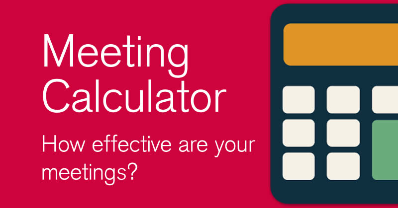 Facilitator Meeting Calculator