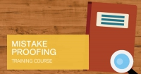 Mistake Proofing training course