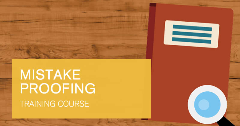 Mistake Proofing online training course