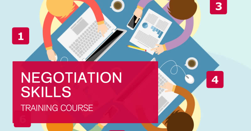Negotiation online training course