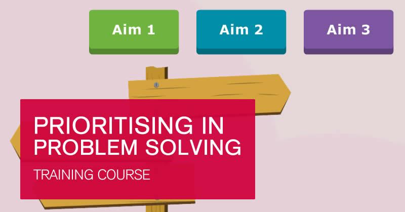 Online Prioritising Problem Solving course