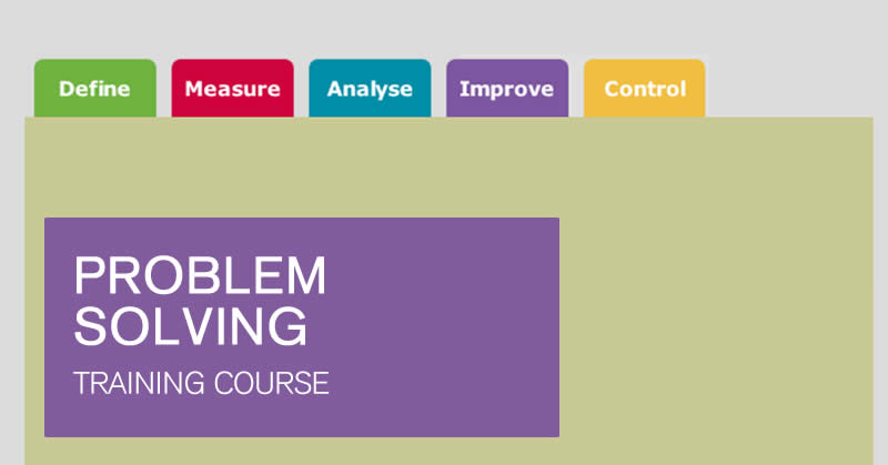 Online Lean Problem Solving training courses