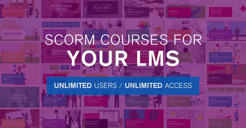 SCORM Courses for Your LMS | 100% Effective