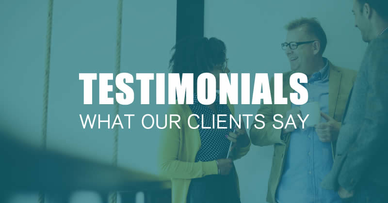 case studies and testimonials