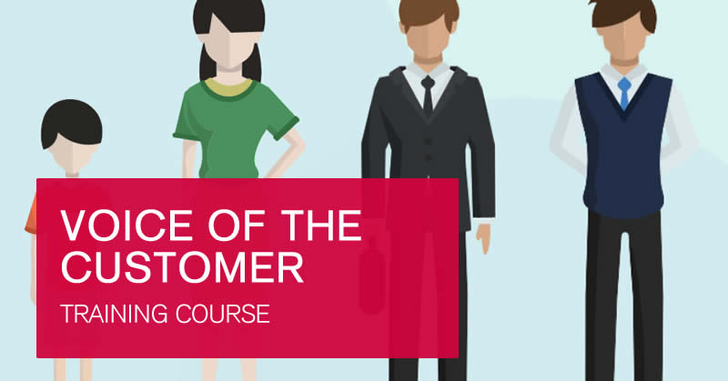 Voice of the customer online training course