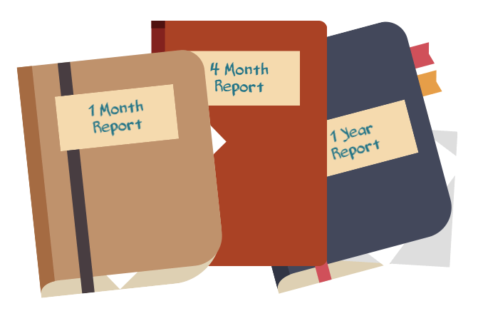 reports for elearning implementation